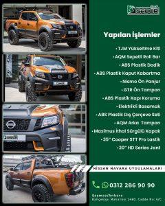 Nissan Navara Ankara Off Road Aksesuar 4x4