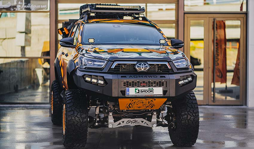 You are currently viewing Toyota Hilux Tiger Off Road Uygulama