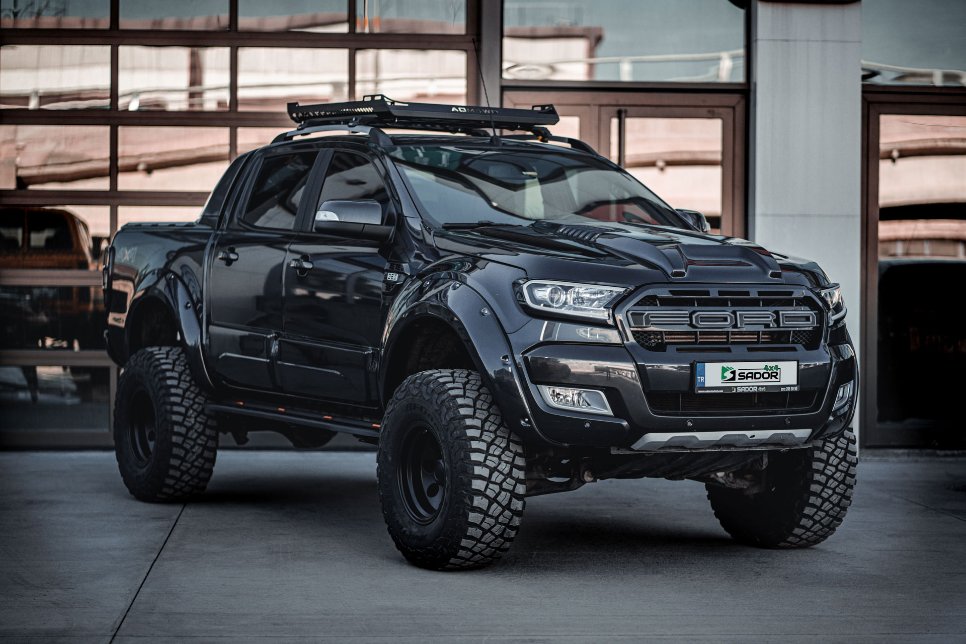 Ford Ranger Wildtrak Ankara Montaj